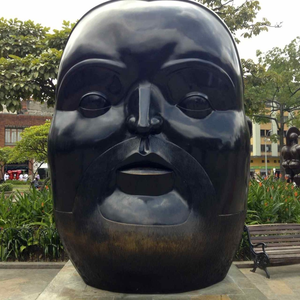 Medellin, Botero Skulptur