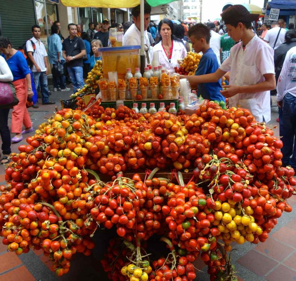 Medellin, Obst, aber welches?