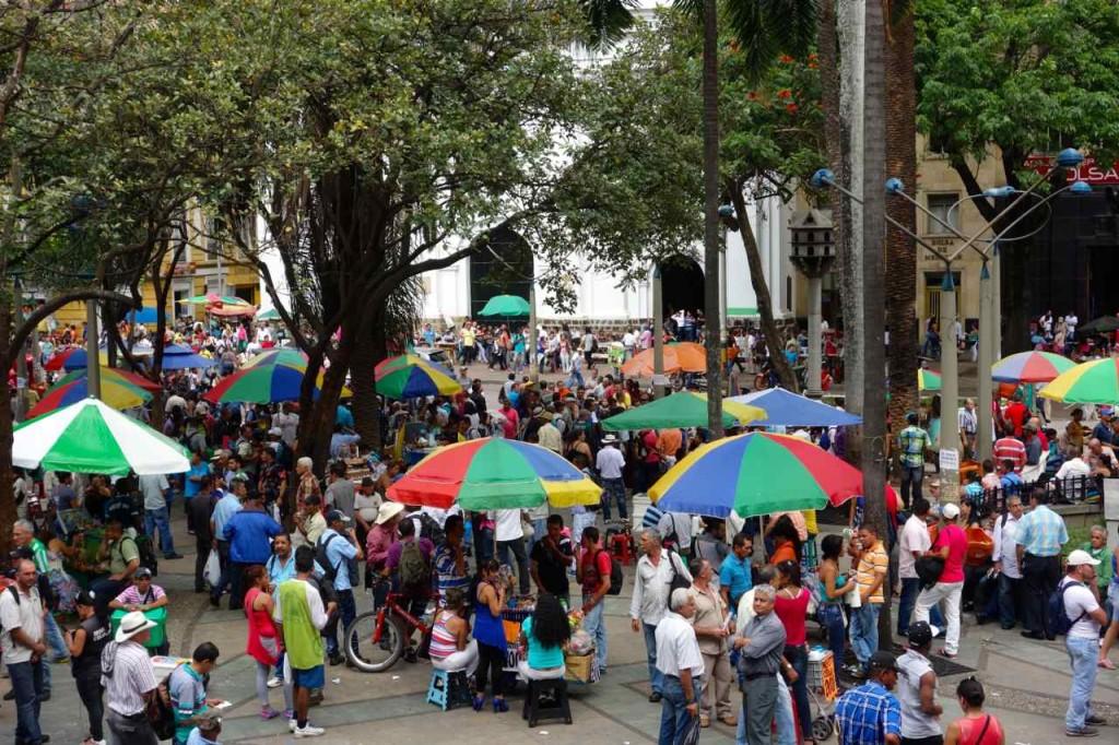 Medellin, Parque Berrio
