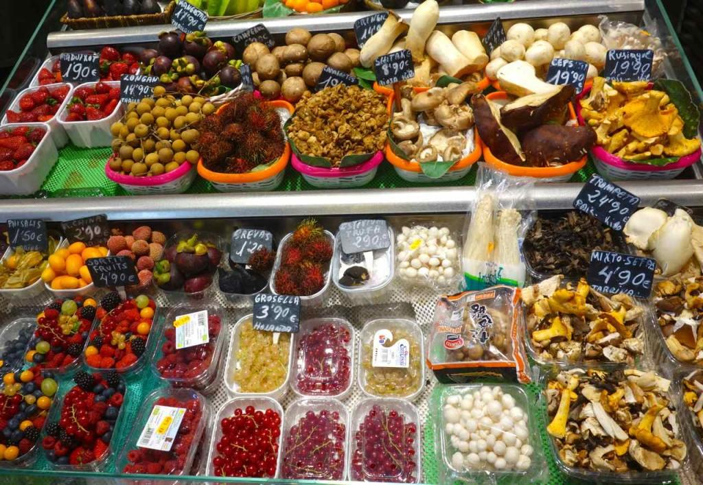 La Boqueria Markt, Barcelona, Markthalle St. Josep