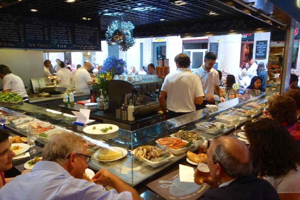 La Boqueria Markt, Barcelona, Markthalle La Boqueria, Universal