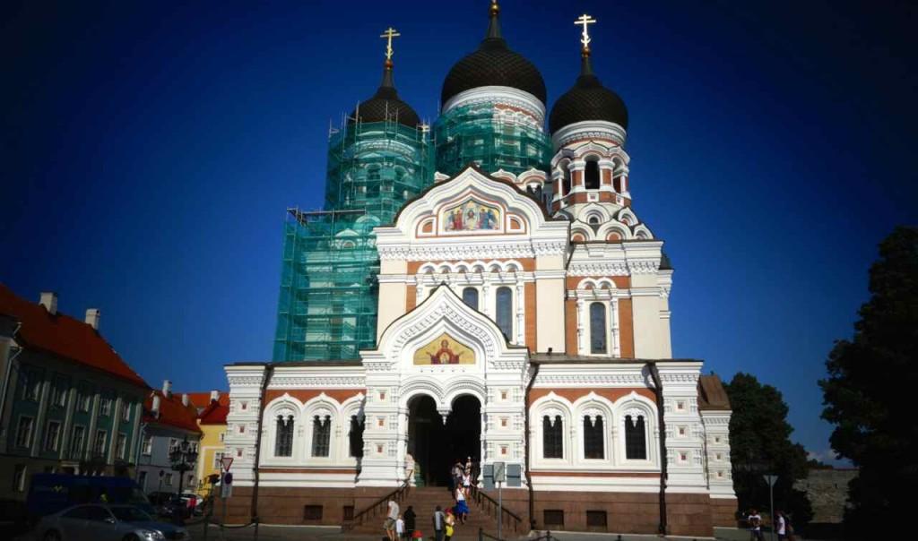 Estland, Tallinn, Alexander Nevski Kathedrale