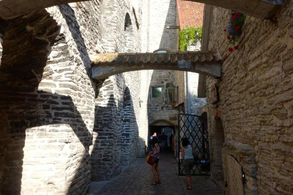 Estland Tallinn, Gasse Katariina Käik