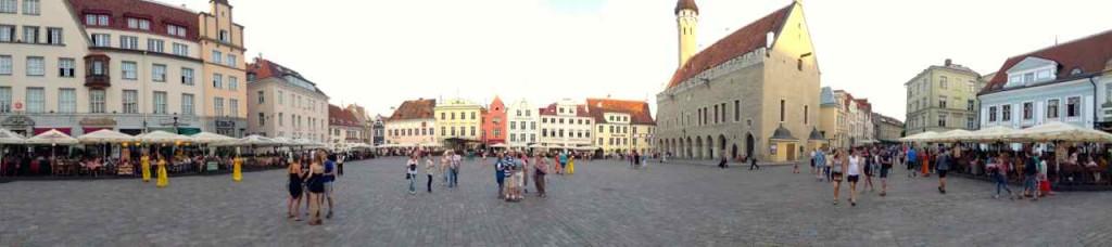 Estland, Tallinn, Rathausplatz