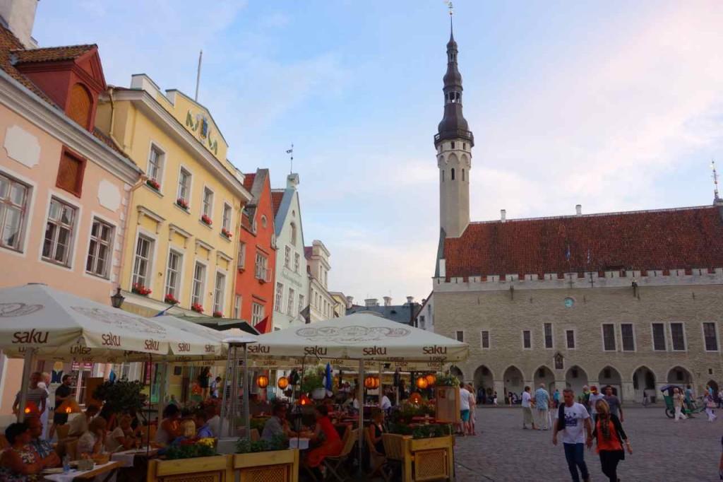Estland Tallinn, Rathausplatz