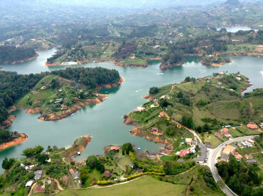 Guatape in Kolumbien