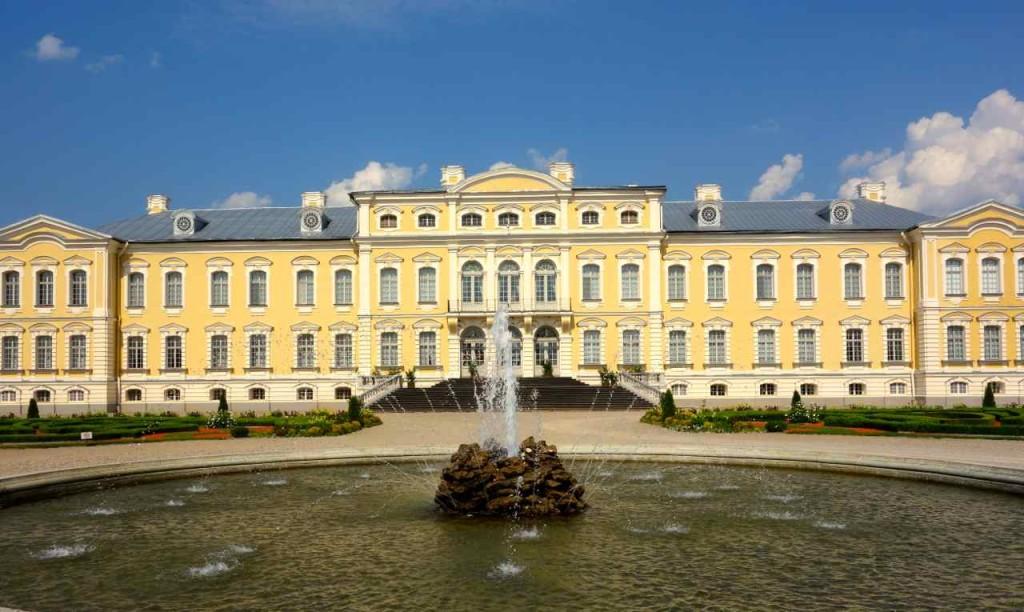 Lettland, Barockschloss Rundale