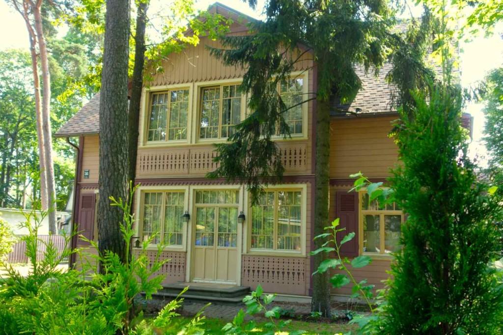 Lettland, Haus in Majori