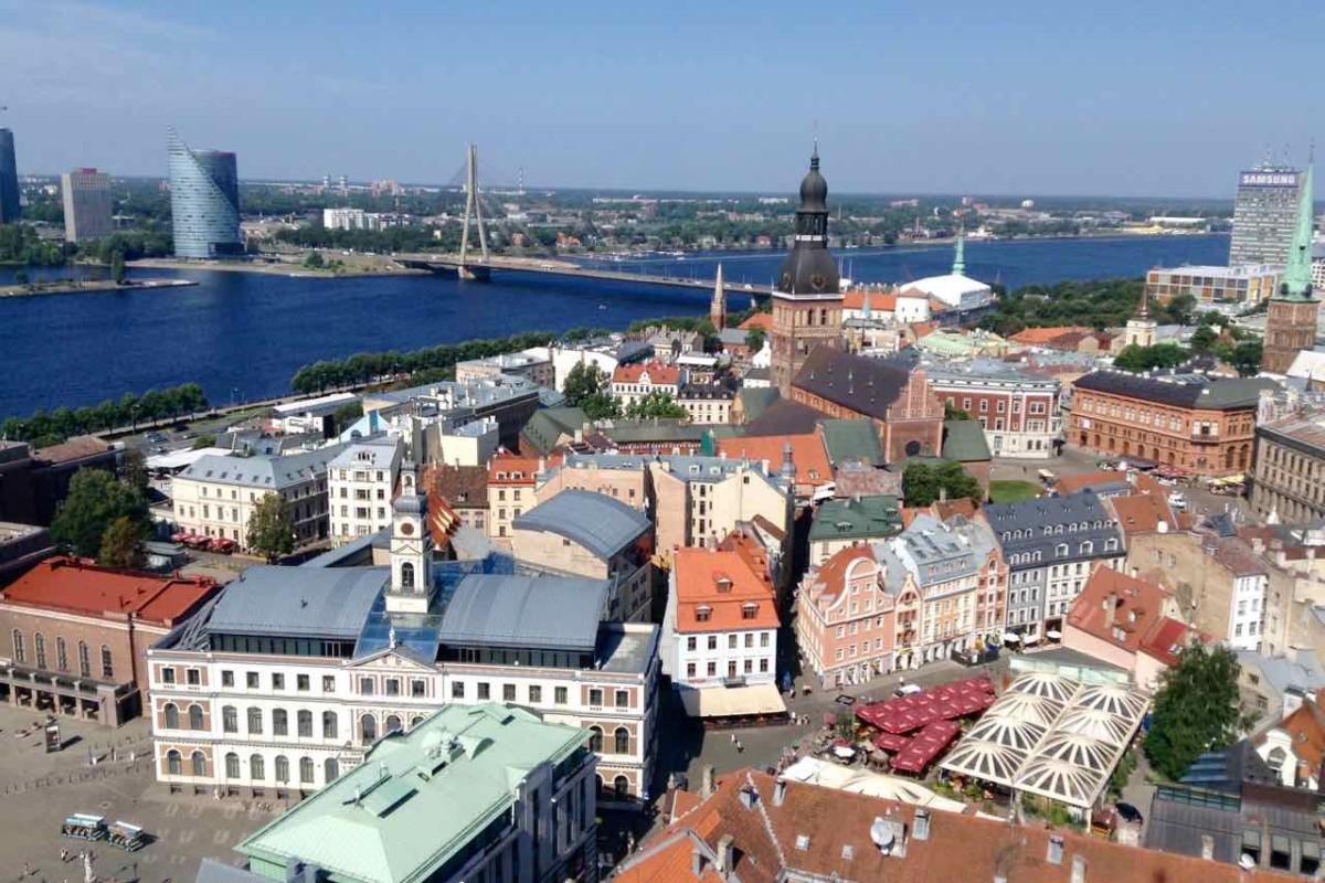 Lettland Riga Sehenswürdigkeiten