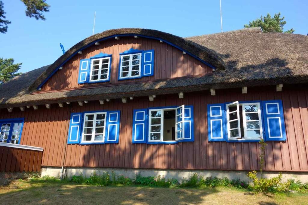 Litauen,Kurische Nehrung, Thomans-Mann-Haus in Nida
