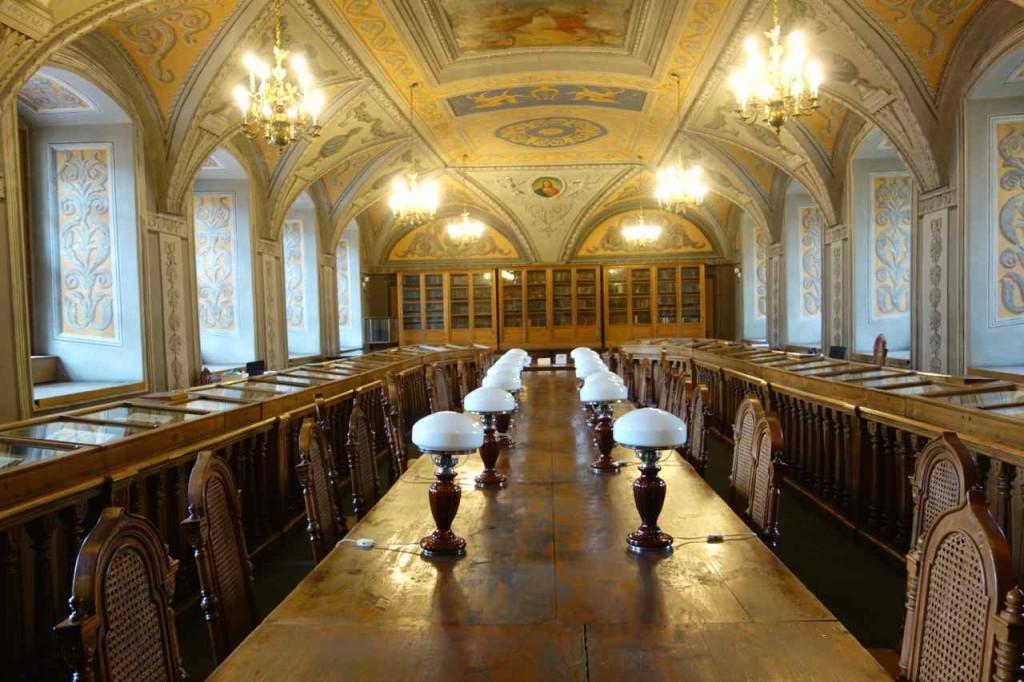 Litauen, Vilnius, Bibliothek der Universität