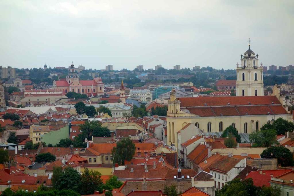 Vilnius, Blick zur Altstadt