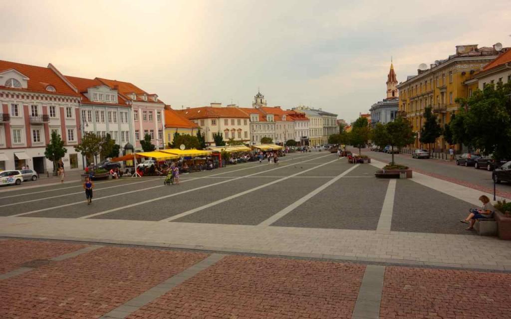 Litauen, Vilnius, Rathausplatz