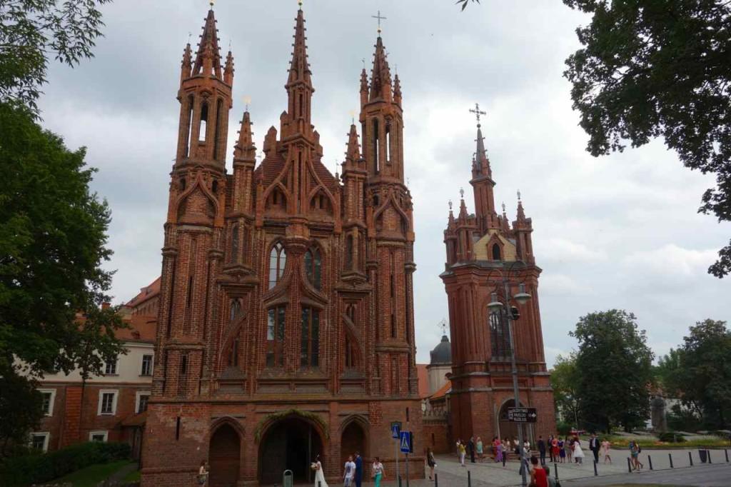 Litauen, Vilnius, St. Anna Kirche