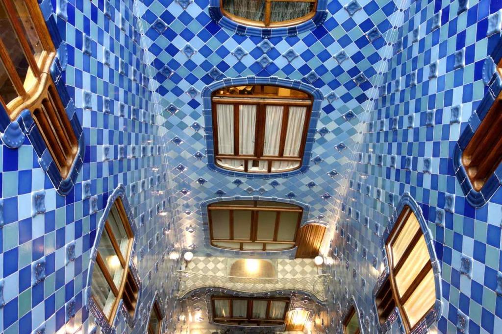 Casa Battlo Barcelona, Lichthof