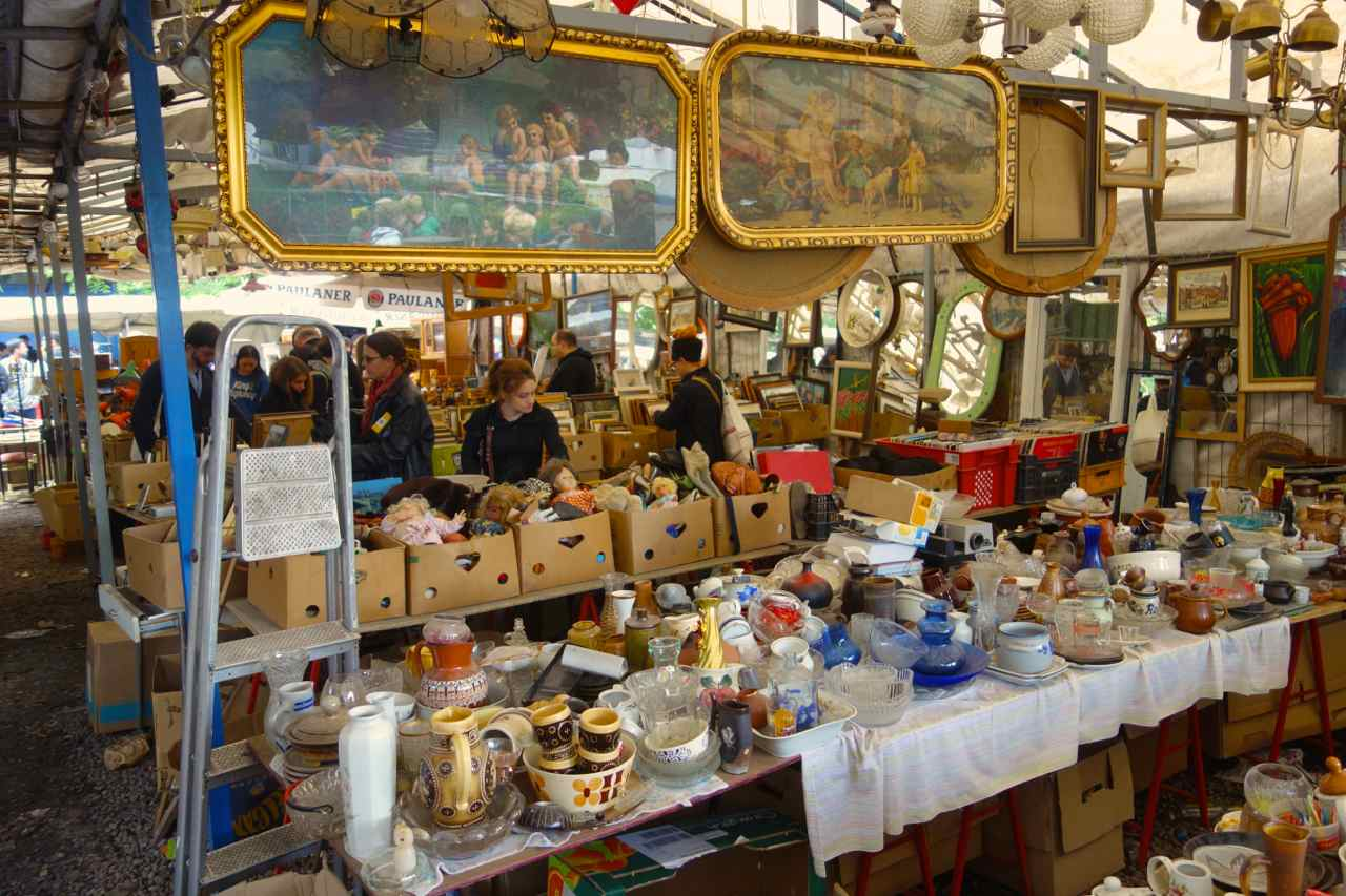 Flohmarkt en berlin