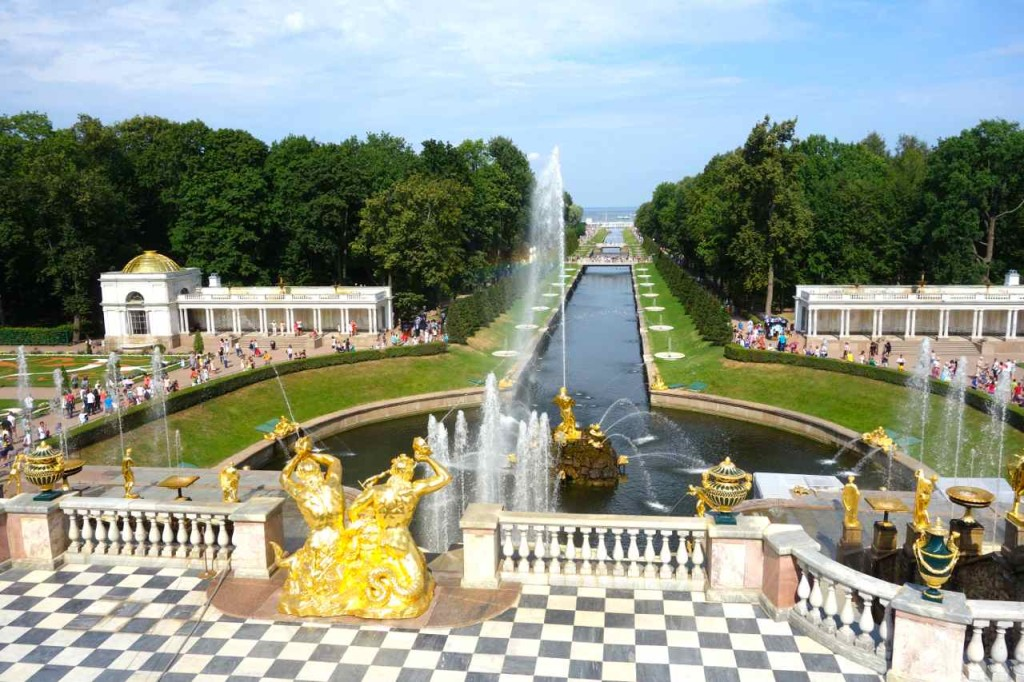 Russland, Peterhof