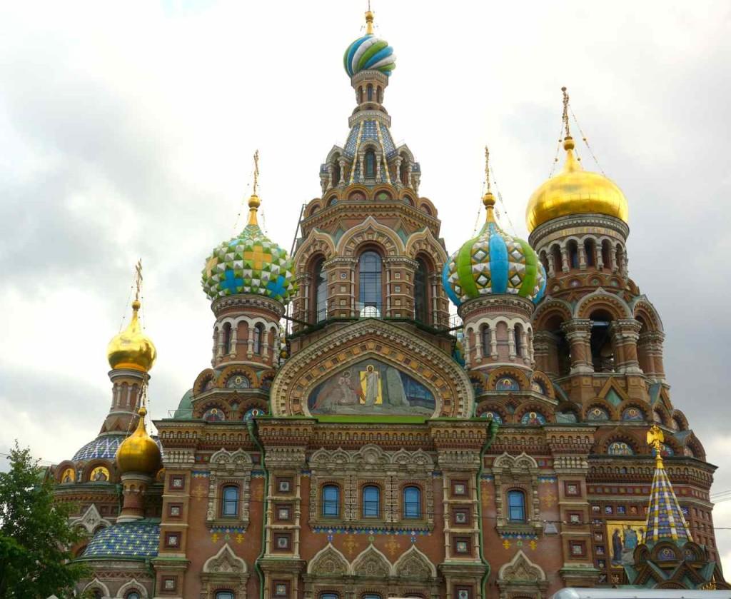 Russland, St. Petersburg Sehenswürdigkeiten, Auferstehungskirche / Blutskirche