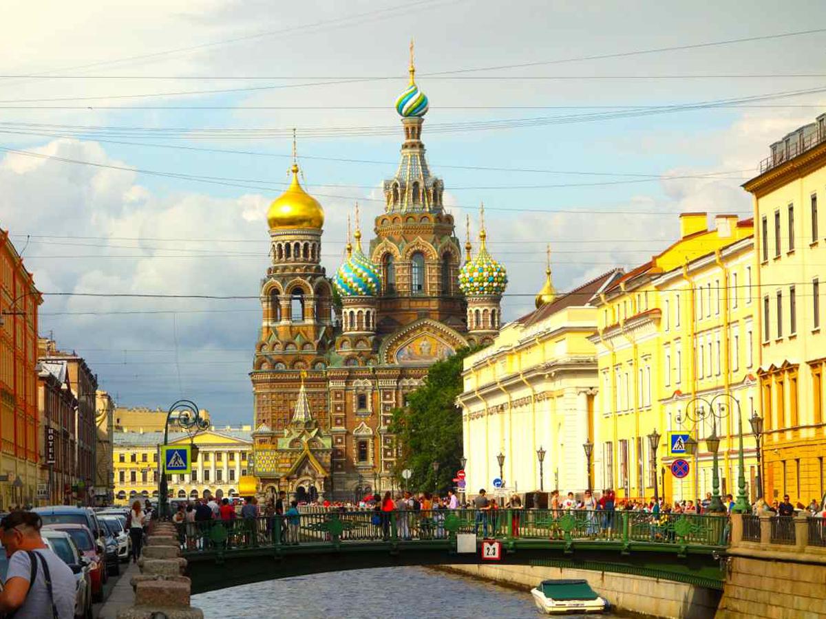Hotels In St Petersburg Russia
