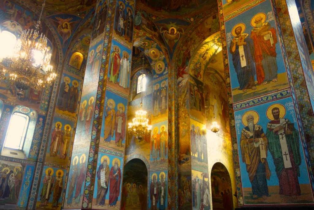 St. Petersburg Sehenswürdigkeiten Auferstehungskirche / Blutskirche