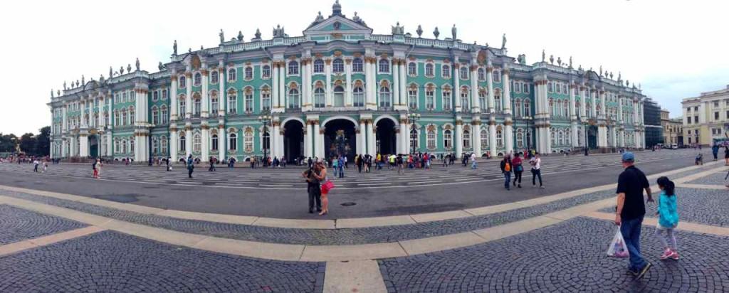 St. Petersburg Sehenswürdigkeiten, Eremitage, Panorama