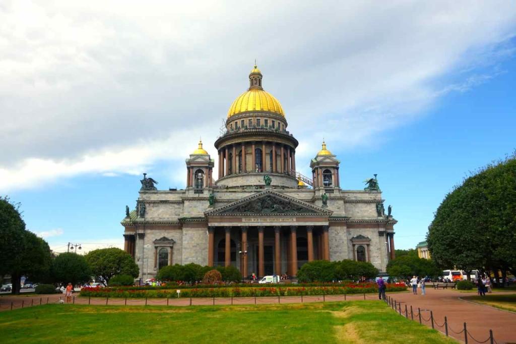 Russland, St. Petersburg Sehenswürdigkeiten, Isaakskathedrale