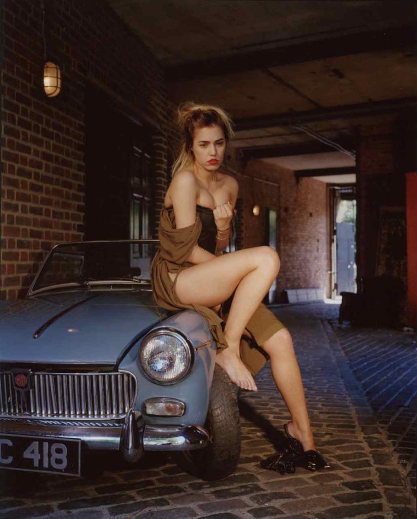 Amber le Bon has lost … her car keys, © Bettina Rheims