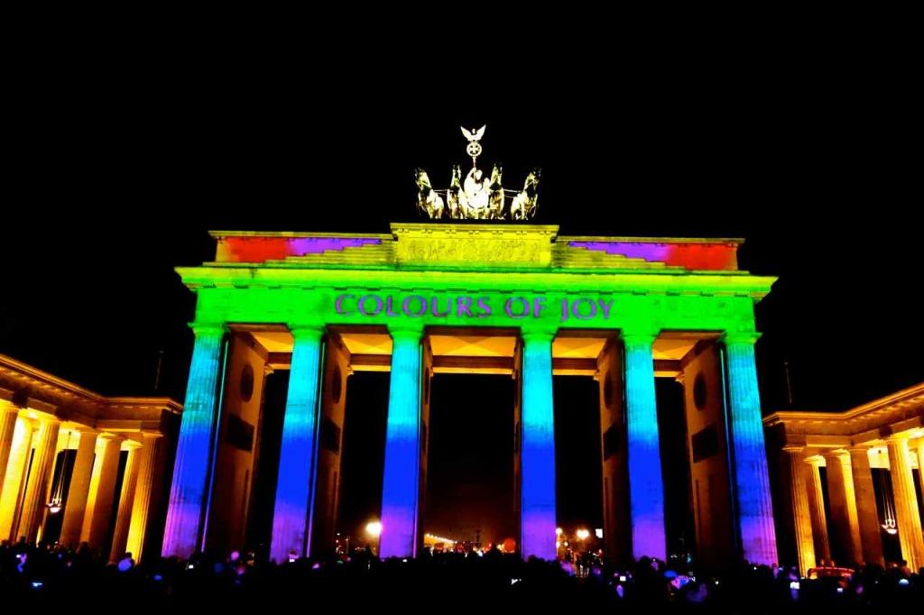 Berlin leuchtet, Brandenburger Tor