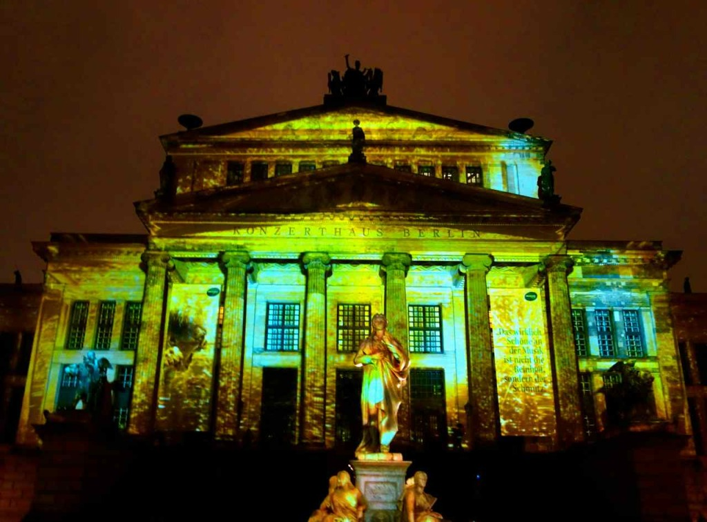 Berlin leuchtet 2015, Gendarmenmarkt