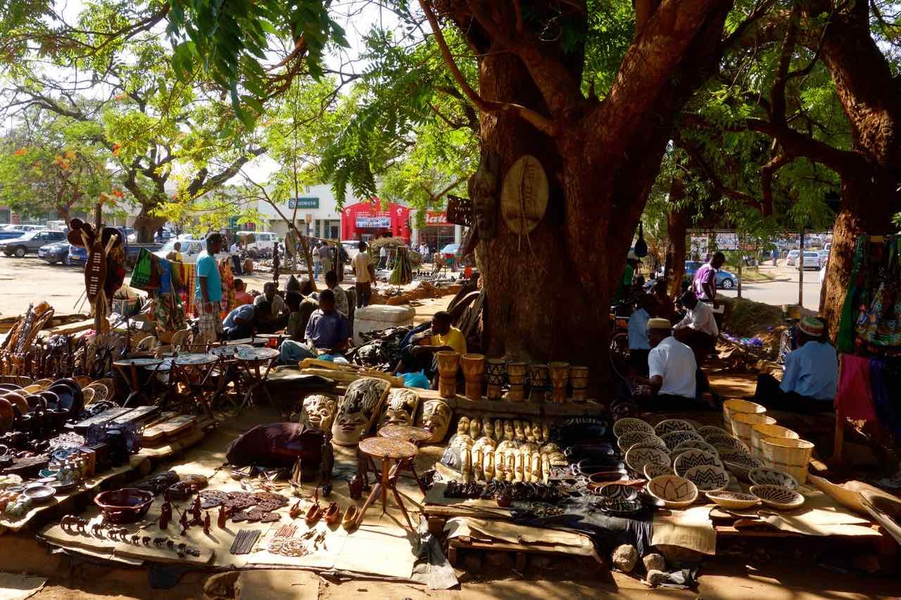 Lilongwe, Händler