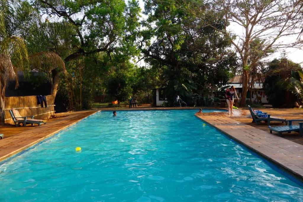 Lilongwe, Mabuya Camp, Pool