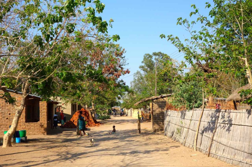 Malawi Cape Maclear, Hauptstraße