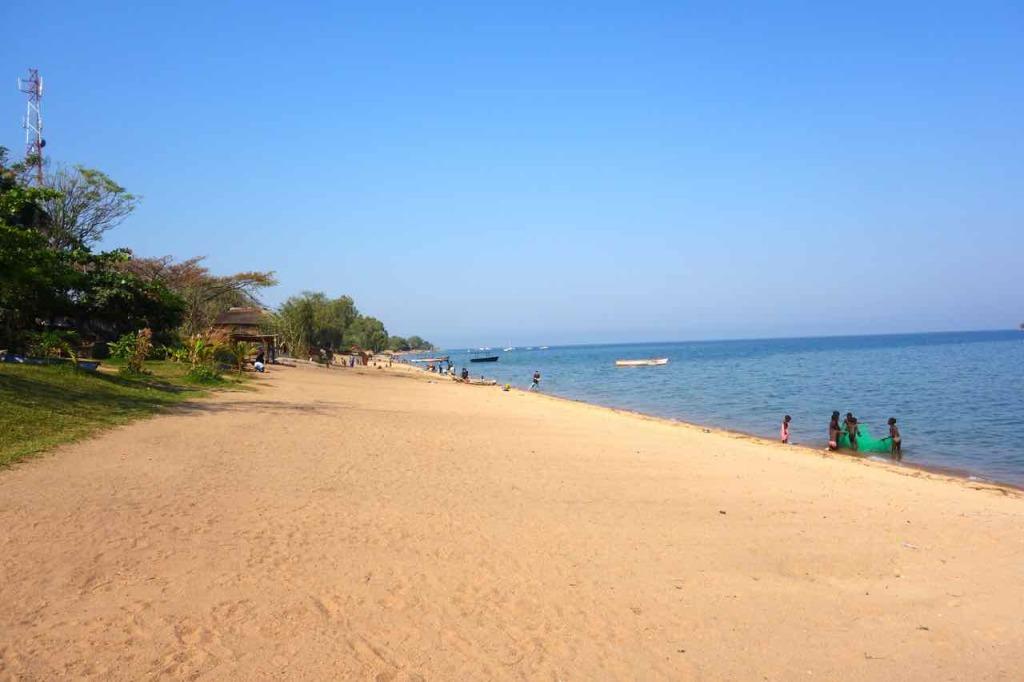 Malawi, Cape Maclear, Strand