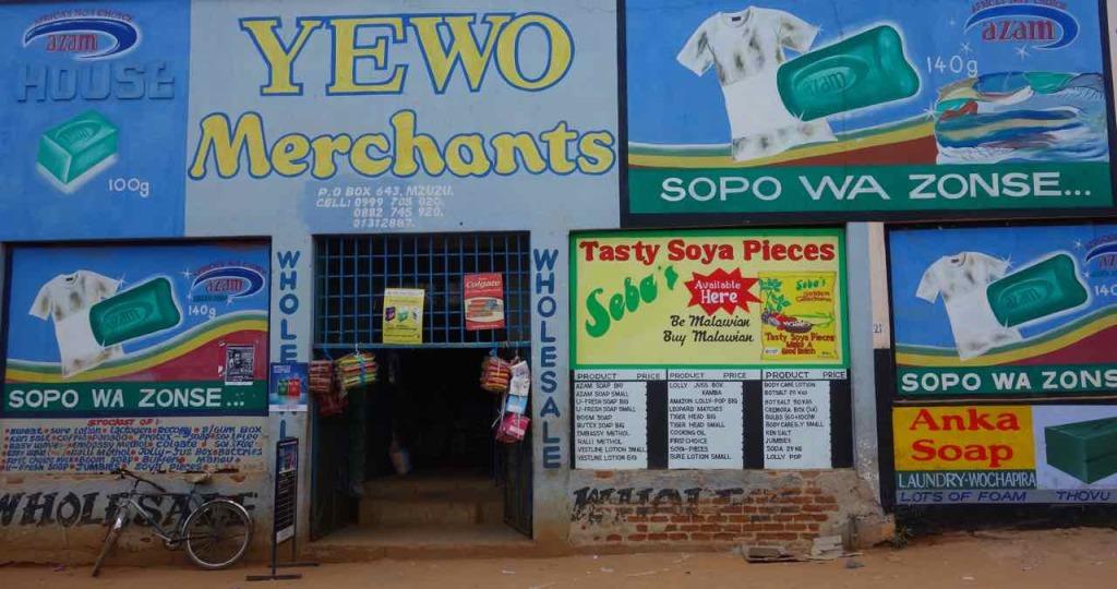 Malawi, Mzuzu, Laden