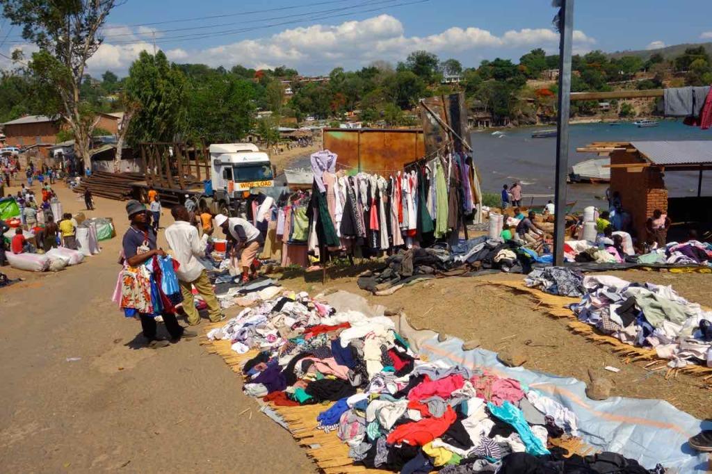 Malawi, Nkhata Bay, Markt
