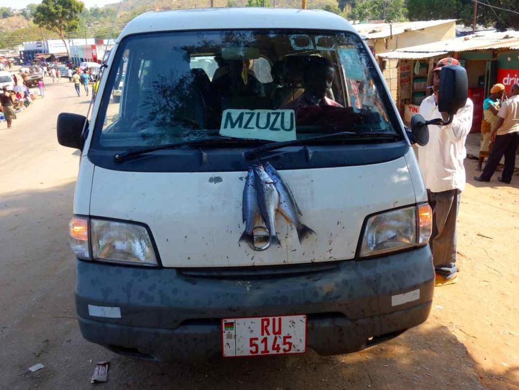 Malawi, Nkhata Bay, Minibus nach Mzuzu