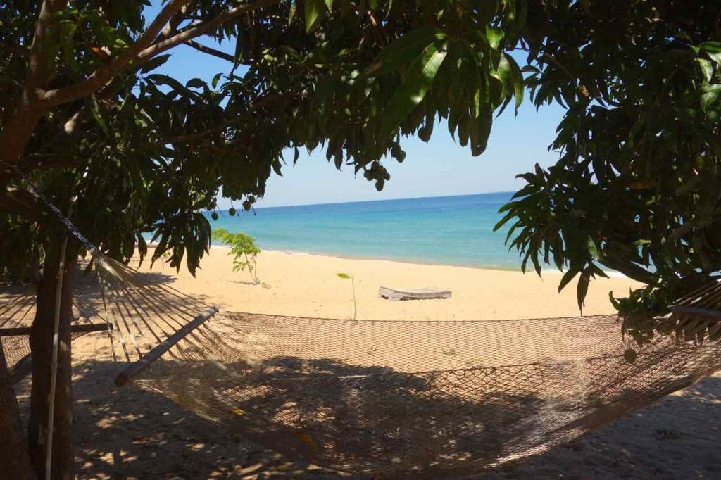 Malawi, Likoma Island, Mango Drift, Hängematten