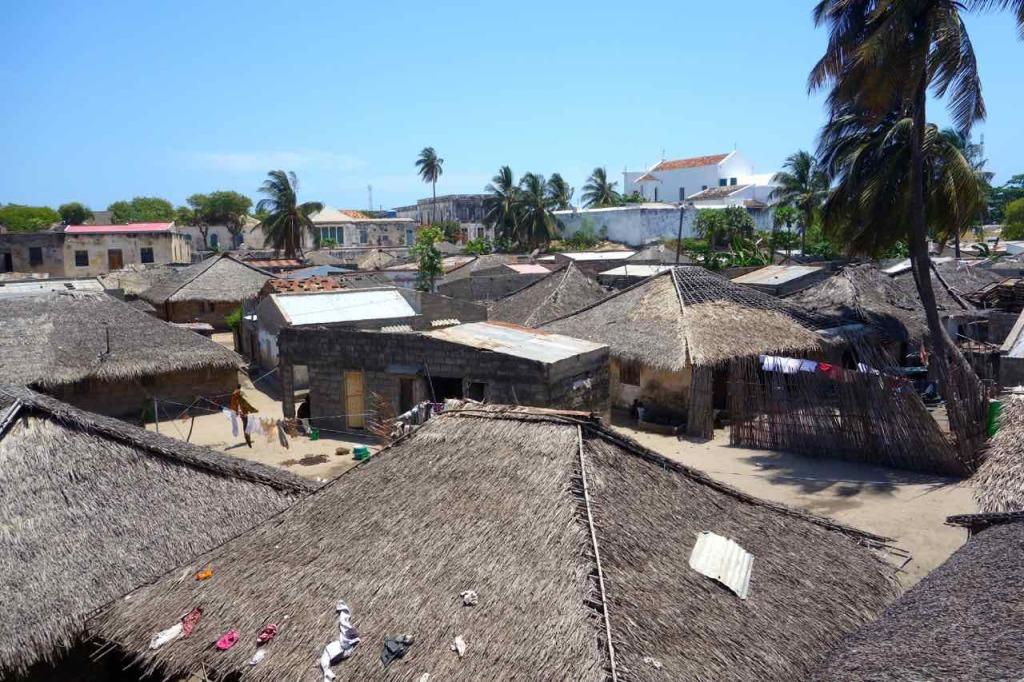 Mosambik, Ilha de Mosambik, Fischerdorf