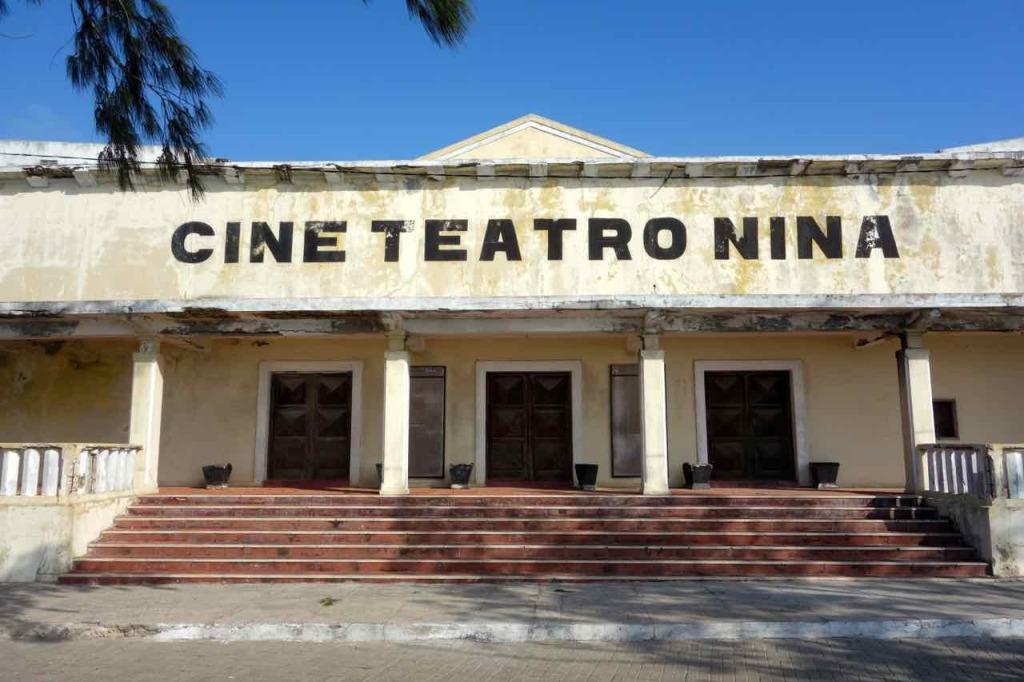 Mosambik, Ilha de Mosambik, Kino