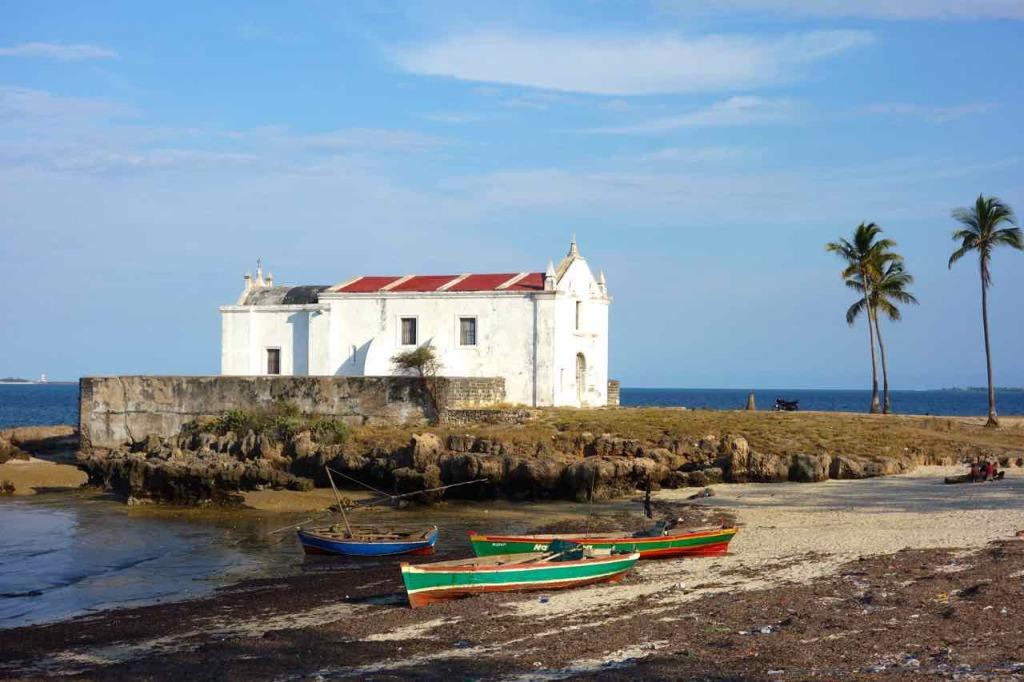Mosambik, Ilha de Mozambique, Kirche