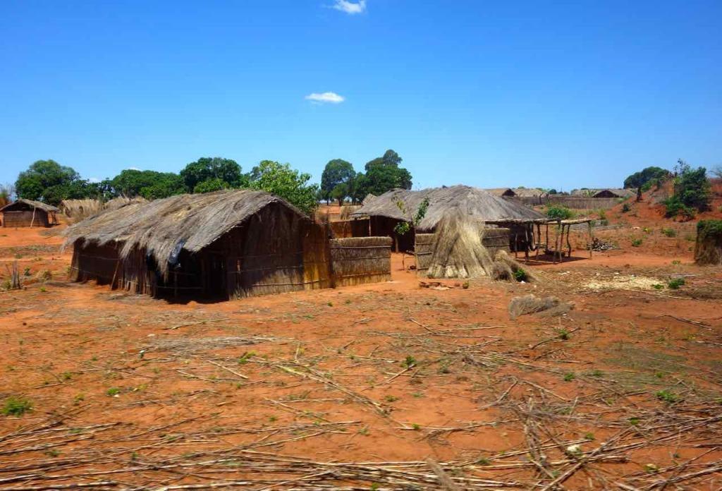 Mosambik, Zugfahrt Cuamba - Nampula