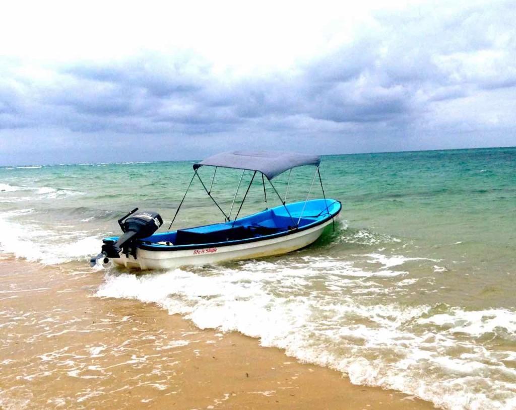 Mosambik, Bazaruto Island, Ausflug mit Nussschale