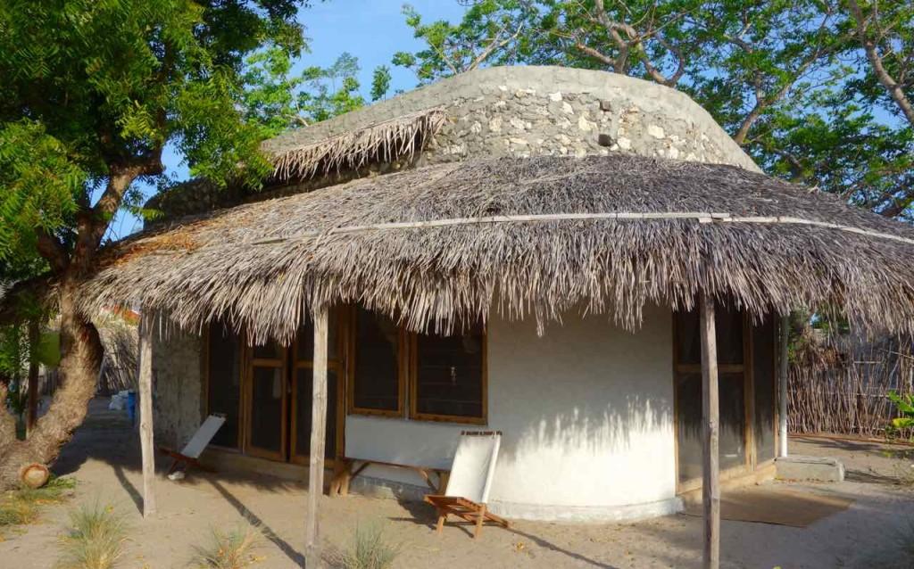 Mosambik, Ibo, Bungalow vom Baobibo