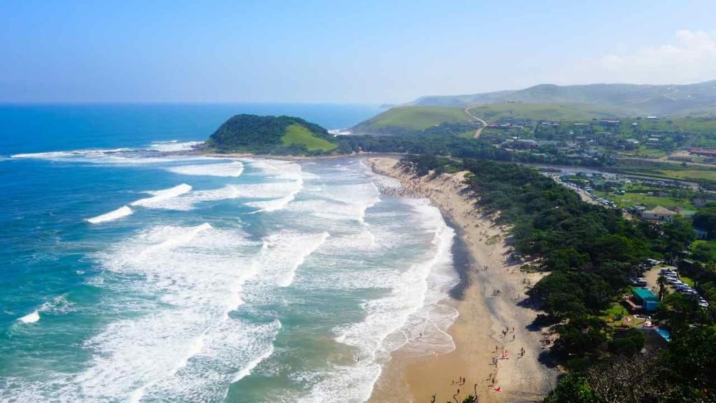 Wild Coast, Strand von Coffee Bay,