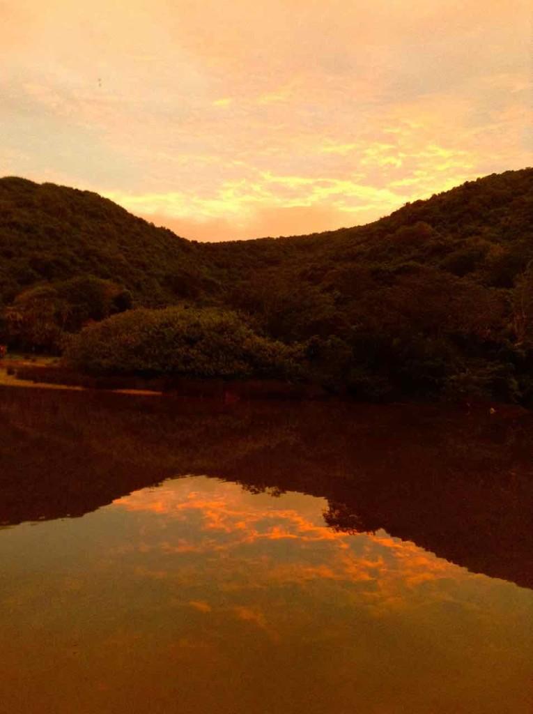 Port St. Johns, Sonnenuntergang