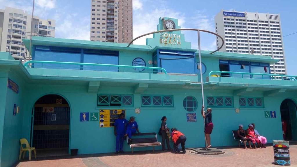 Südafrika Durban, Golden Mile, Waterfront, Rettungsstation