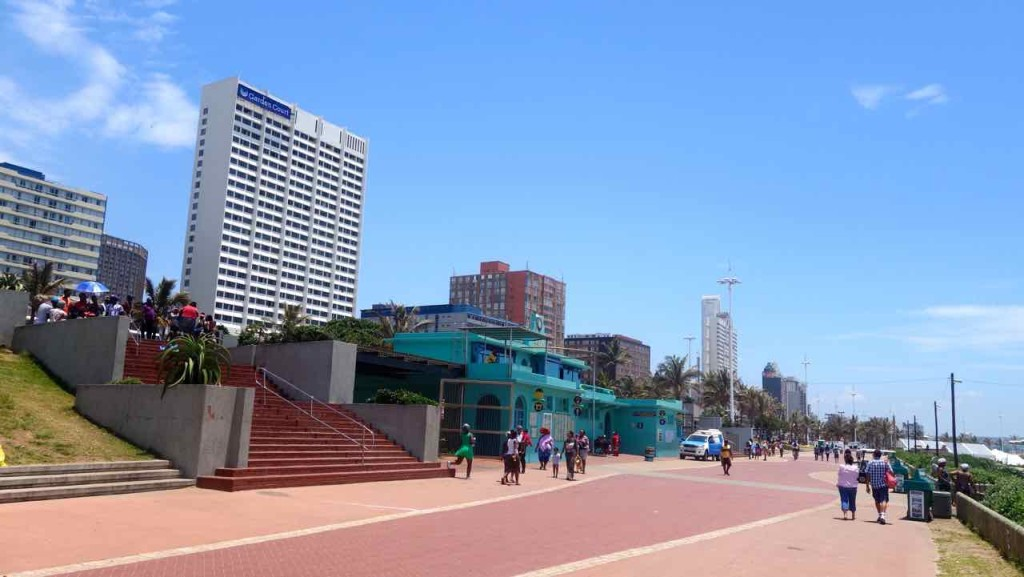 Südafrika Durban, Strandpromenade