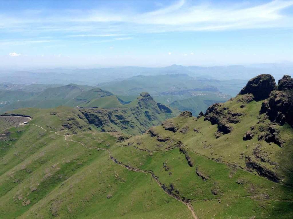 Südafrika, Northern Drakensberg Rückweg 2
