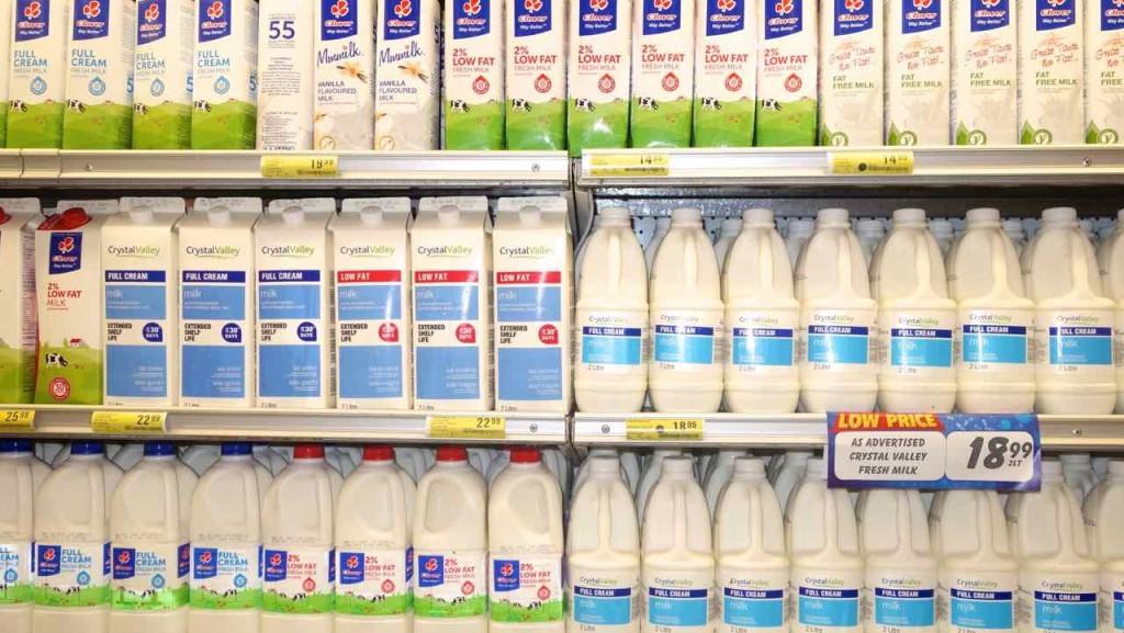 Supermärkte Afrika, Shoprite, Swaziland, Milch