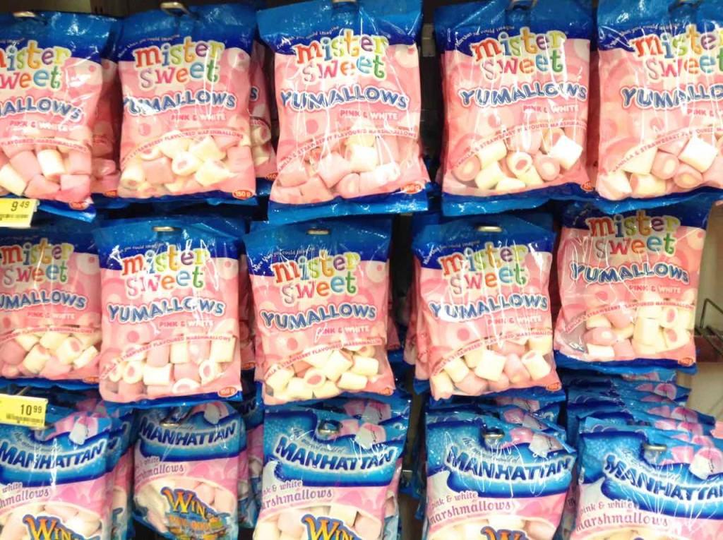 Supermärkte Afrika, Shoprite, Swaziland, Marshmallow